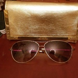 Tory Burch Aviator Sunglasses with Case